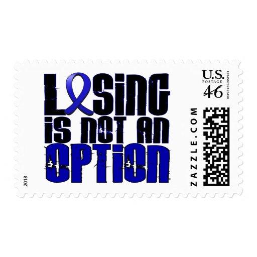 Losing Is Not An Option Ankylosing Spondylitis Postage