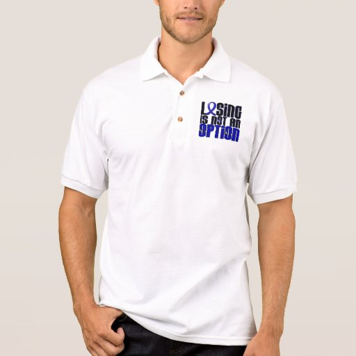 Losing Is Not An Option Ankylosing Spondylitis Polo T-shirt