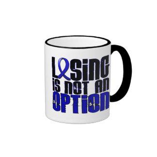 Losing Is Not An Option Arthritis Ringer Coffee Mug