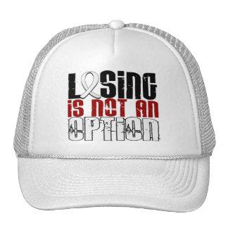 Losing Is Not An Option Bone Disease Trucker Hat