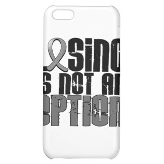 Losing Is Not An Option Brain Cancer iPhone 5C Case