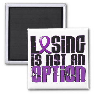 Losing Is Not An Option Bulimia Refrigerator Magnet
