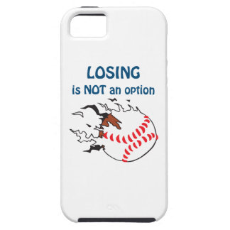 LOSING IS NOT AN OPTION iPhone 5 CASES