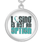 Losing Is Not An Option Cervical Cancer Pendant