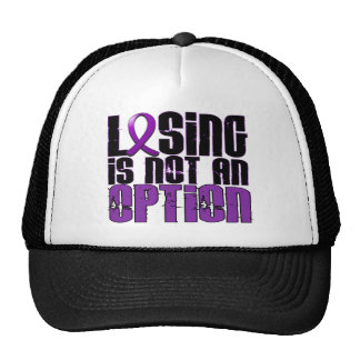 Losing Is Not An Option Chiari Malformation Trucker Hat