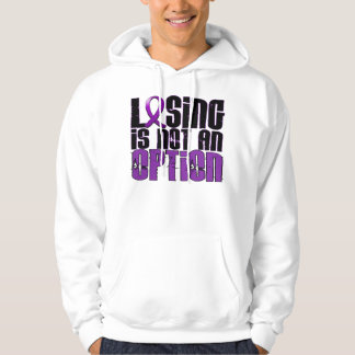 Losing Is Not An Option Cystic Fibrosis Hoodie