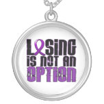 Losing Is Not An Option Cystic Fibrosis Pendants