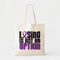Losing Is Not An Option Cystic Fibrosis Tote Bag