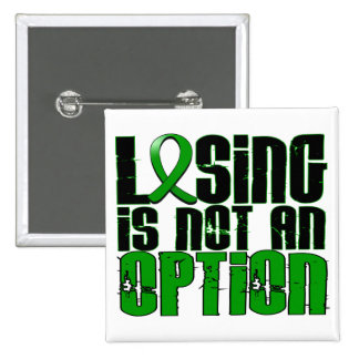 Losing Is Not An Option Depression Button