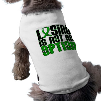 Losing Is Not An Option Depression Pet Tee