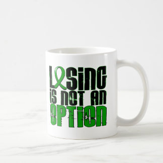 Losing Is Not An Option Depression Mugs