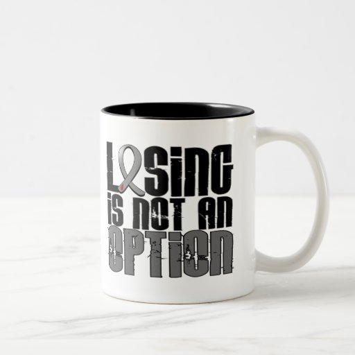 Losing Is Not An Option Diabetes Mugs