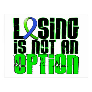Losing Is Not An Option EDS Postcard