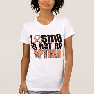 Losing Is Not An Option Endometrial Cancer T-Shirt