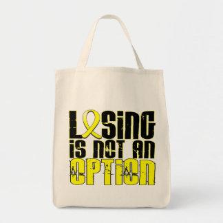 Losing Is Not An Option Endometriosis Tote Bags