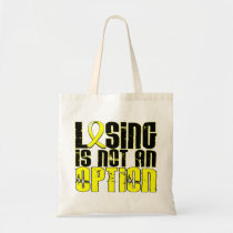 Losing Is Not An Option Endometriosis Tote Bag
