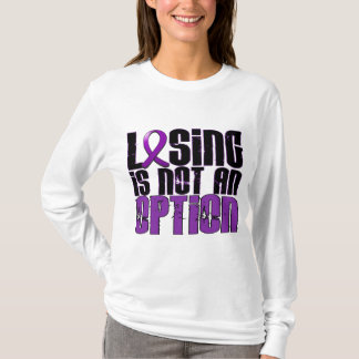 Losing Is Not An Option Epilepsy T-Shirt