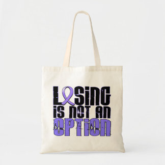 Losing Is Not An Option Esophageal Cancer Tote Bag