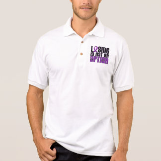 Losing Is Not An Option Fibromyalgia Polo Shirt