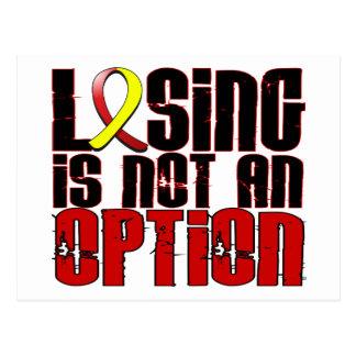 Losing Is Not An Option Hepatitis C Postcard