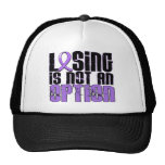 Losing Is Not An Option Hodgkin's Lymphoma Mesh Hat