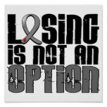 Losing Is Not An Option Juvenile Diabetes Poster