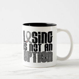 Losing Is Not An Option Juvenile Diabetes Two-Tone Coffee Mug