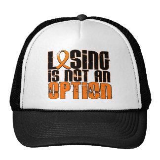 Losing Is Not An Option Leukemia Trucker Hat