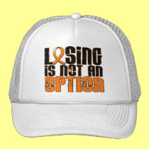 Losing Is Not An Option Leukemia Hat