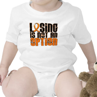 Losing Is Not An Option Leukemia T Shirts