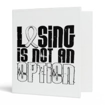 Losing Is Not An Option Lung Cancer Binder