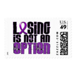Losing Is Not An Option Lupus Postage Stamps