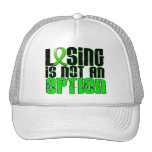 Losing Is Not An Option Lyme Disease Hats