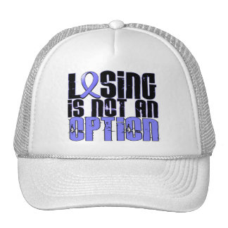 Losing Is Not An Option Lymphedema Trucker Hat