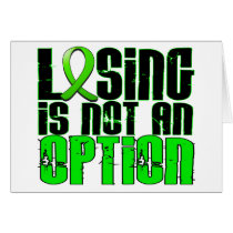 Losing Is Not An Option Lymphoma Card