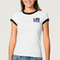 Losing Is Not An Option Male Breast Cancer T-Shirt