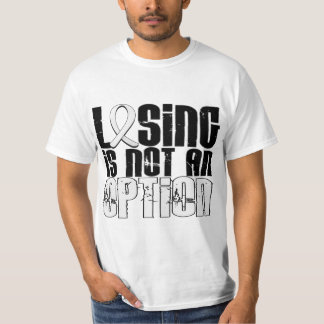 Losing Is Not An Option Mesothelioma T-Shirt