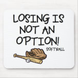 Losing is Not an Option! Mouse Pad