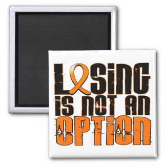 Losing Is Not An Option Multiple Sclerosis 2 Inch Square Magnet