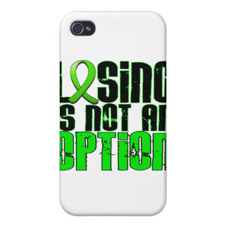 Losing Is Not An Option Muscular Dystrophy Cover For iPhone 4