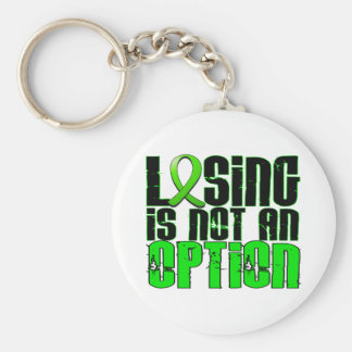 Losing Is Not An Option Muscular Dystrophy Keychain