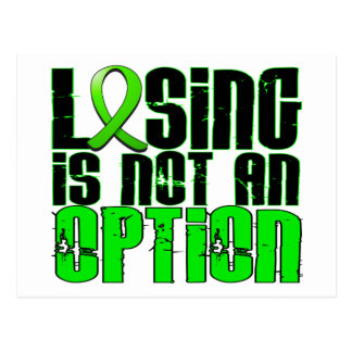 Losing Is Not An Option Muscular Dystrophy Postcard