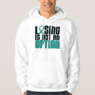 Losing Is Not An Option PCOS Hoodie