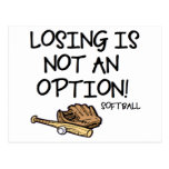 Losing is Not an Option! Postcard