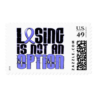 Losing Is Not An Option Prostate Cancer Stamp