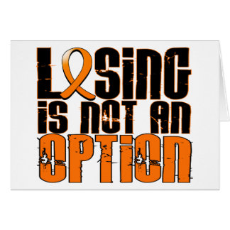 Losing Is Not An Option RSD Card