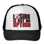 Losing Is Not An Option Stroke Mesh Hat