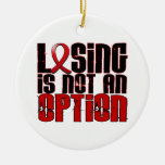 Losing Is Not An Option Stroke Ornament