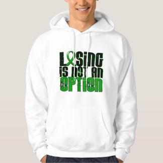 Losing Is Not An Option Traumatic Brain Injury TBI Hoodie