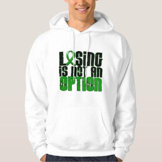 Losing Is Not An Option Traumatic Brain Injury TBI Hoodie